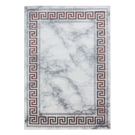 Adana Carpets Modern vloerkleed - Marble Edge Grijs Bruin