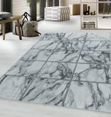 Adana Carpets Modern vloerkleed - Marble Box Grijs Zilver
