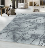 Adana Carpets Modern vloerkleed - Marble Branch Grijs Zilver