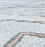 Adana Carpets Modern vloerkleed - Marble Pattern Grijs Bruin