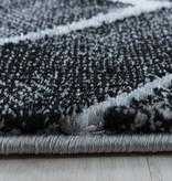 Adana Carpets Modern vloerkleed - Marble Square Antraciet Zilver