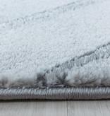 Adana Carpets Modern vloerkleed - Marble Square Grijs Zilver