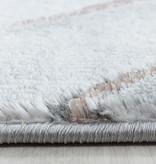 Adana Carpets Modern vloerkleed - Marble Square Grijs Bruin