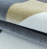 Adana Carpets Modern vloerkleed - Optimism Design Geel Grijs