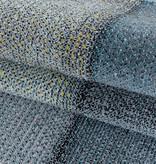 Adana Carpets Modern vloerkleed - Optimism Block Blauw Grijs
