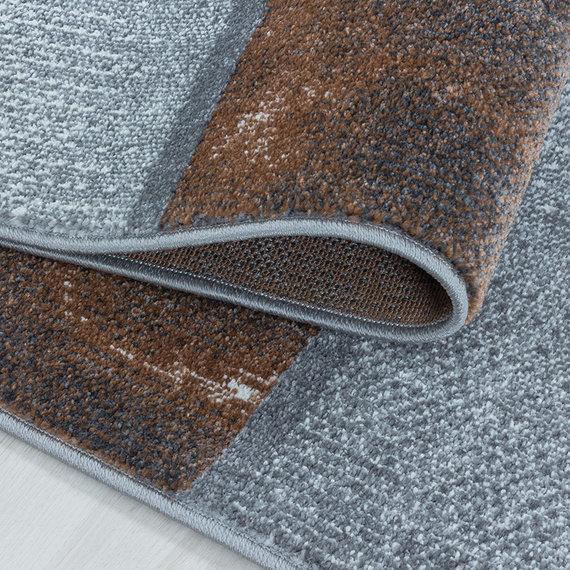 Adana Carpets Modern vloerkleed - Optimism Box Bruin Grijs