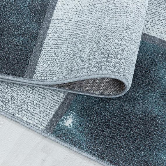 Adana Carpets Modern vloerkleed - Optimism Box Blauw Grijs
