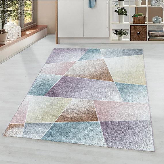 Adana Carpets Laagpolig vloerkleed - Smoothly Design Multicolor