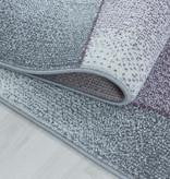 Adana Carpets Laagpolig vloerkleed - Smoothly Design Paars Grijs