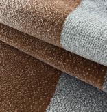 Adana Carpets Laagpolig vloerkleed - Smoothly Design Bruin Grijs
