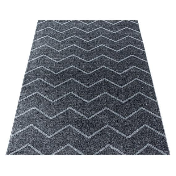 Adana Carpets Laagpolig vloerkleed - Smoothly Weave Grijs Wit