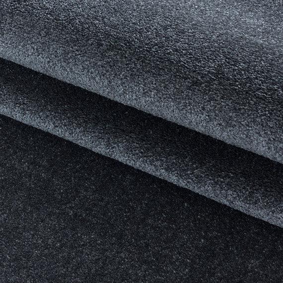 Adana Carpets Laagpolig vloerkleed - Smoothly Antraciet