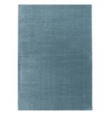Adana Carpets Laagpolig vloerkleed - Smoothly Blauw