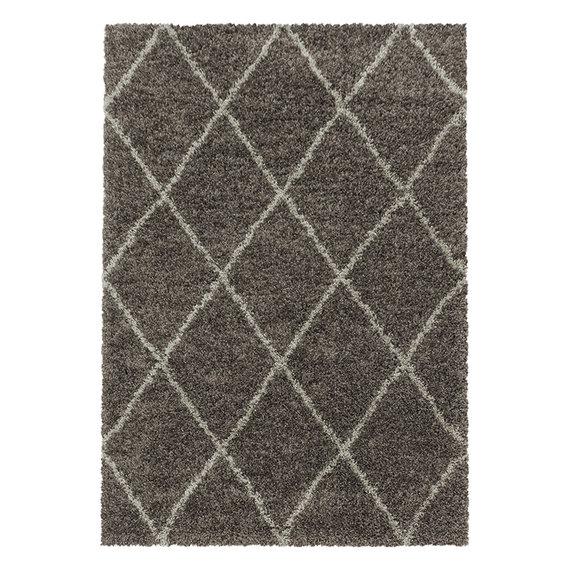 Adana Carpets Berber vloerkleed - Agadir Lines Taupe Creme