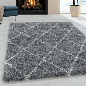 Adana Carpets Berber vloerkleed - Agadir Lines Grijs Creme