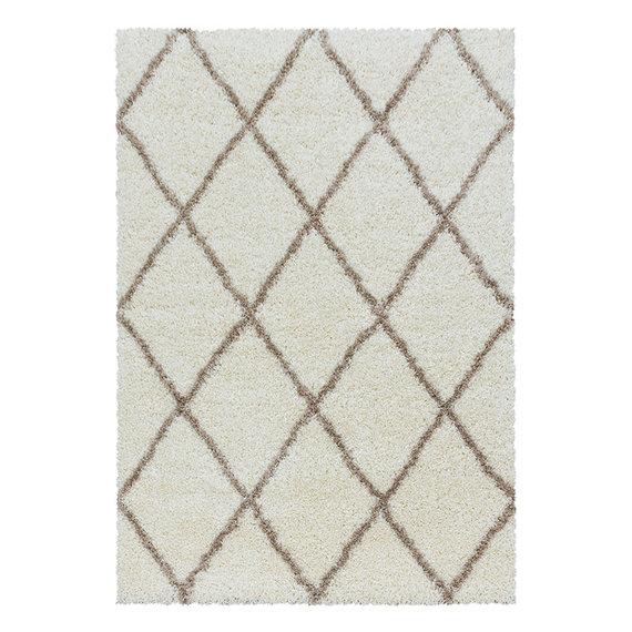 Adana Carpets Berber vloerkleed - Agadir Lines Creme Beige