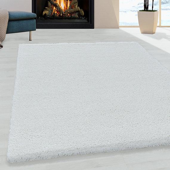 Adana Carpets Hoogpolig vloerkleed - Fuzzy Wit