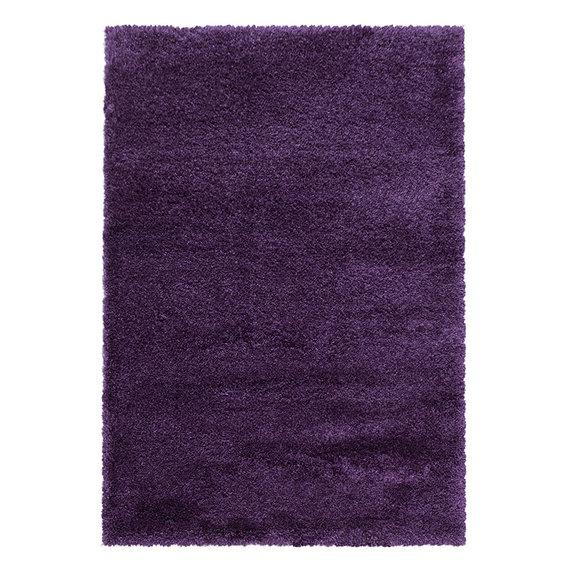 Adana Carpets Hoogpolig vloerkleed - Fuzzy Paars