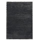 Adana Carpets Hoogpolig vloerkleed - Fuzzy Donkergrijs