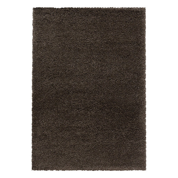 Adana Carpets Hoogpolig vloerkleed - Fuzzy Bruin