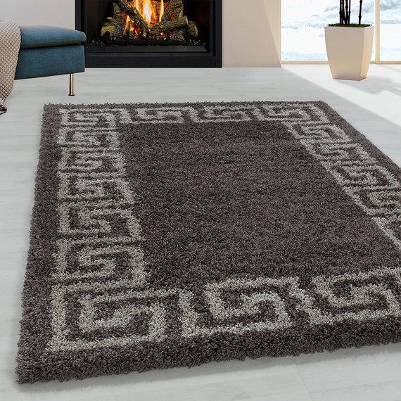 Adana Carpets Modern vloerkleed - Greece Bruin Taupe