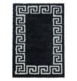 Adana Carpets Modern vloerkleed - Greece Antraciet Creme