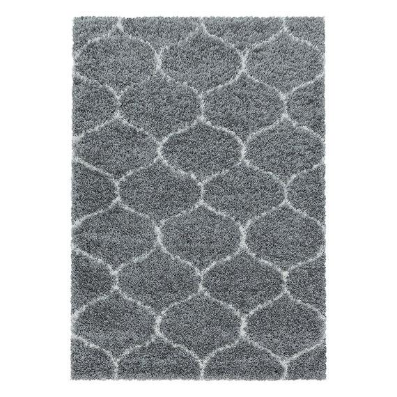 Adana Carpets Berber vloerkleed - Agadir Circle Grijs Creme