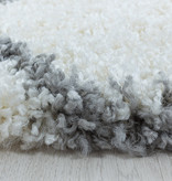 Adana Carpets Berber vloerkleed - Agadir Circle Creme Grijs