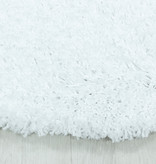 Adana Carpets Rond hoogpolig vloerkleed - Softy Wit