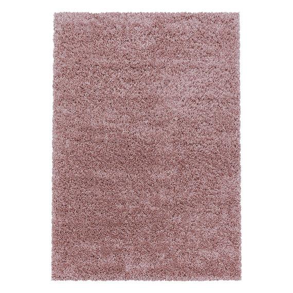 Adana Carpets Hoogpolig vloerkleed - Softy Roze