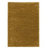 Adana Carpets Hoogpolig vloerkleed - Softy Okergeel