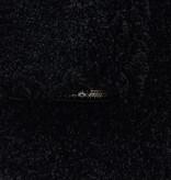 Adana Carpets Rond hoogpolig vloerkleed - Softy Zwart