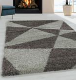 Adana Carpets Hoogpolig vloerkleed - Tuggy Taupe
