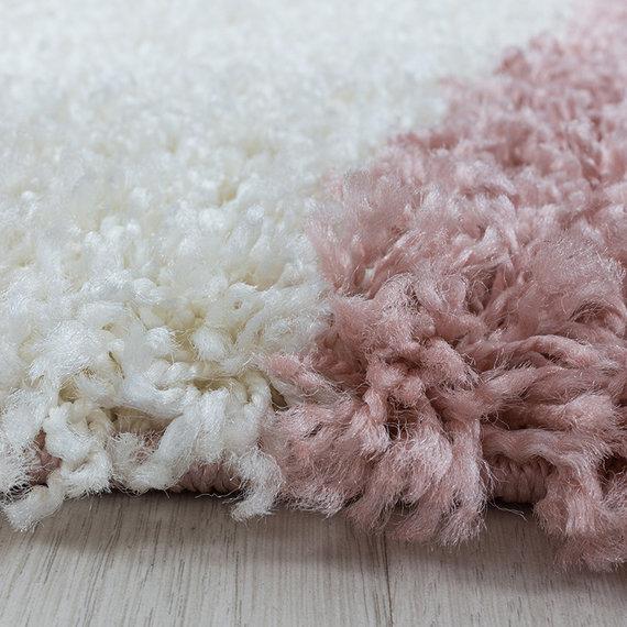 Adana Carpets Hoogpolig vloerkleed - Tuggy Roze