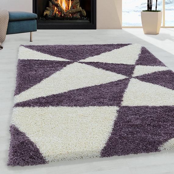 Adana Carpets Hoogpolig vloerkleed - Tuggy Paars