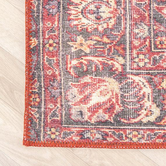 FRAAI Vintage Vloerkleed - Estate Medaillon Rustiek