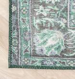 FRAAI Vintage Vloerkleed - Estate Medaillon Donkergroen
