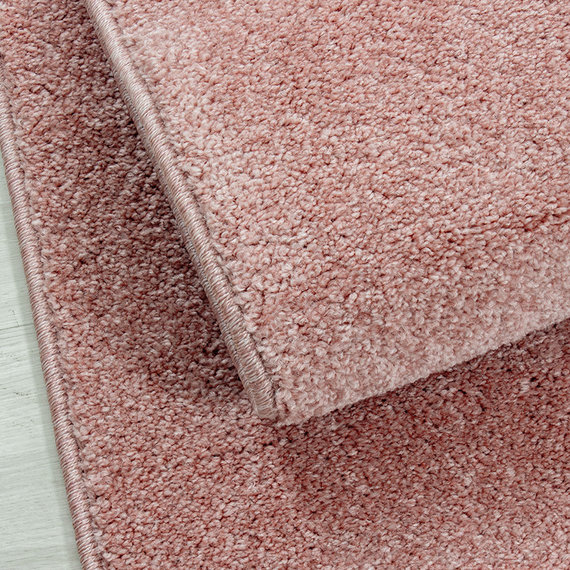 Adana Carpets Laagpolig vloerkleed - Asa Roze