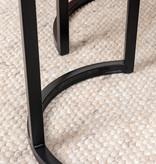 FRAAI Salontafel Mangohout - Ted bruin 2/set - 75x75x48 cm