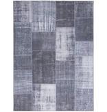 FRAAI Patchwork vloerkleed - Moods Antraciet No.21