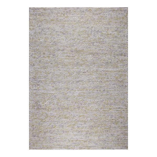 Wol bolletjesvloerkleed - Madeleine Beige/Bruin