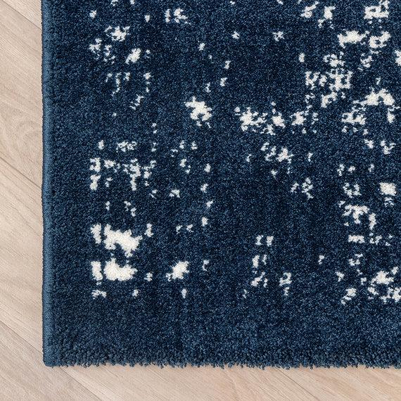 FRAAI Zacht Vloerkleed Ambiance - Oriental Blauw Wit
