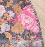 FRAAI Rond Rozenkelim vloerkleed - Rosa Pink