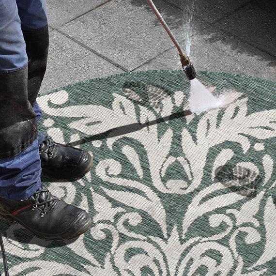 Bougari Rond Buiten vloerkleed - Twin Supreme Madrid Groen