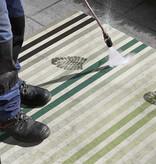 Bougari Patchwork buitenkleed  - Paros Groen Creme