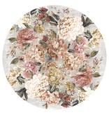 Rebelle Rond Bloemen vloerkleed - Fleur Multi