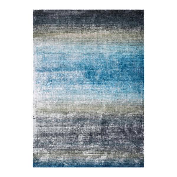 Viscose vloerkleed - Rachelle Blauw Groen