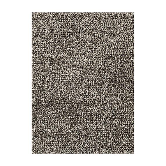 Rebelle Wollen vloerkleed - Halette Zwart Wit