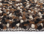 Rebelle Wollen vloerkleed - Halette Zwart Grijs
