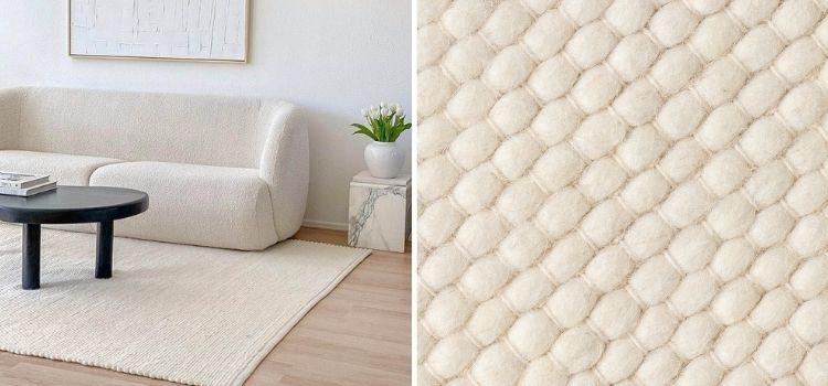 Materiaal vloerkleed wol